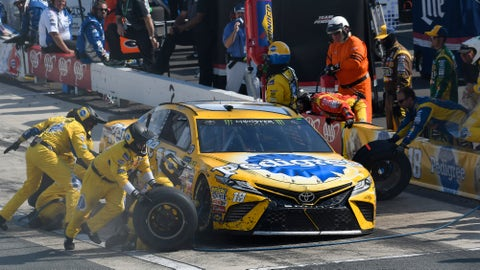 NASCAR suspends team members for Kyle Busch, Chase Briscoe