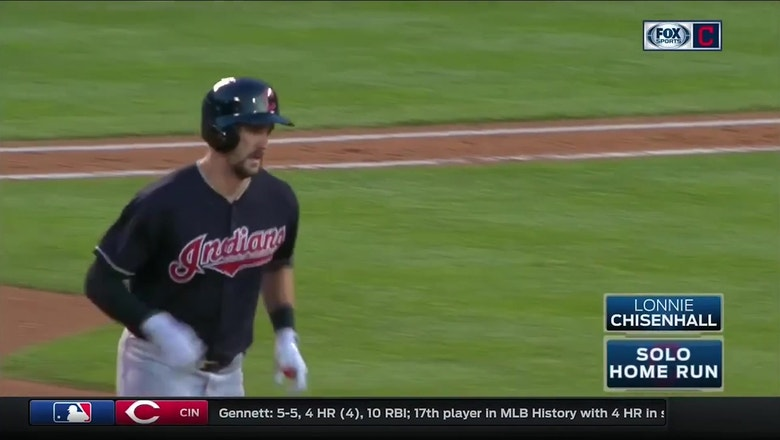 HIGHLIGHTS: Chisenhall, Zimmer go deep in Indians loss
