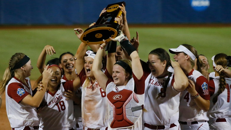 Champ U: Oklahoma defends softball title with 5-4 win over Florida