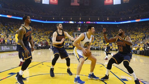 NBA Finals -- Warriors crush Cavaliers, 132-113, to take 2-0 lead