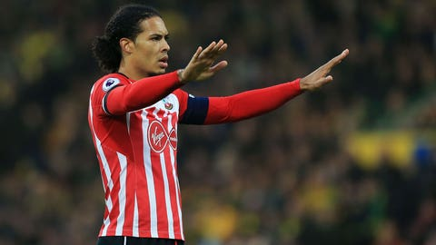 Liverpool end Van Dijk interest